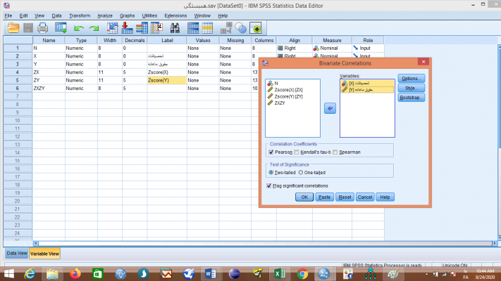 Variables-in-SPSS