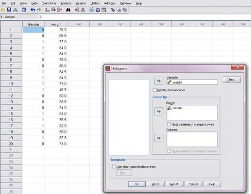 title-of-histogram-in-spss