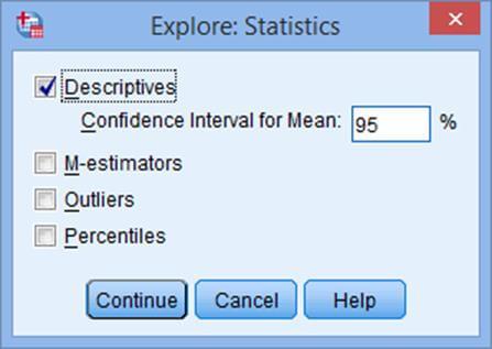 explore-Statistics-in-spss